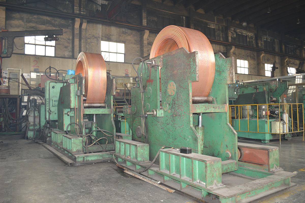 銅条製造技術と設備の研究とアップグレード