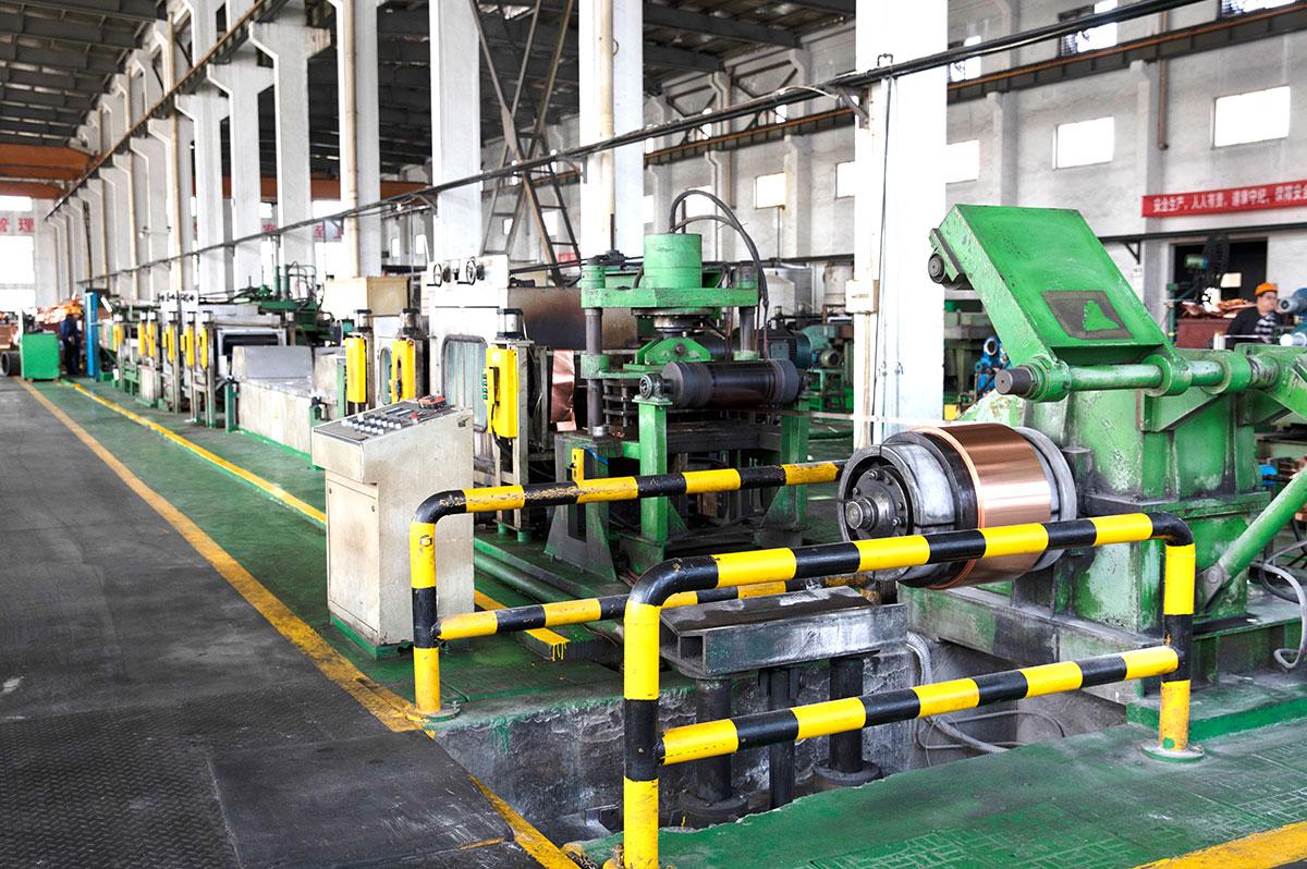 避雷接地用の銅テープの溶接方法